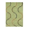 The Conestoga Trading Co. De Anza Hand-Tufted Green Area Rug