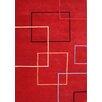 The Conestoga Trading Co. Verrazzano Hand-Tufted Red Area Rug