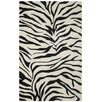 The Conestoga Trading Co. Hand-Tufted Black/Ivory Area Rug