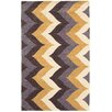The Conestoga Trading Co. Hand-Tufted Brown/Gold Area Rug