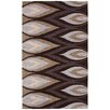The Conestoga Trading Co. Hand-Tufted Brown/Ivory Area Rug