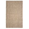 The Conestoga Trading Co. Hines Hand-Woven Brown/White Area Rug