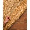 Meridian Rugmakers Purwa Hand-Braided Beige Area Rug