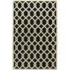 Meridian Rugmakers Yevla Hand-Loomed Black Area Rug