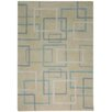 Meridian Rugmakers Ancona Hand-Knotted Gray Area Rug