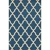 Meridian Rugmakers Terre Hand-Tufted Dark Blue Area Rug