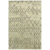 Meridian Rugmakers Dieppe Hand-Knotted Grey Area Rug