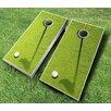 AJJ Cornhole 10 Piece Golf Cornhole Set