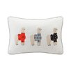 HipStyle Sweater Weather Alpaca Embroidered Cotton Lumbar Pillow