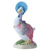 Beatrix Potter Jemima Puddle Duck with Herbs Figure