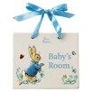 Beatrix Potter Peter Rabbit Door Plaque