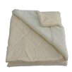 Anna Ricci Micro-Mink Oversized Quilting Throw Blanket
