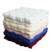 Anna Ricci Plush Chunky Quilted Throw Blanket