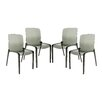 LeisureMod Murray Side Chair (Set of 4)