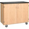 Diversified Woodcrafts Standard Mobile Storage Cabinet
