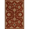 Threadbind Hadfield Red Area Rug