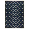 Threadbind Edinburgh Blue/Ivory Indoor/Outdoor Area Rug
