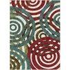 Threadbind Berwick Red/Green Area Rug