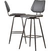 "Latitude Run Loganville 30"" Swivel Bar Stool (Set of 2)"