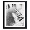Latitude Run Water Ski Beauties Framed Photographic Print