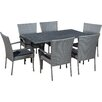 Latitude Run Outdoor 7 Piece Dining Set