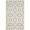 Latitude Run Arthur Hand-Tufted Grey / Ivory Area Rug