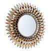 Latitude Run Round Decorative Wall Mirror