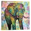 Latitude Run Elephant Torn Graphic Art on Wrapped Canvas