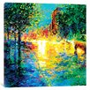 Latitude Run Brooklyn Dawn Painting on Wrapped Canvas
