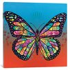 Latitude Run The Butterfly Graphic Art on Wrapped Canvas