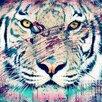 Salty & Sweet Leinwandbild Tiger, Grafikdruck