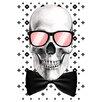 Salty & Sweet Leinwandbild Mr. Bonehead Chic, Grafikdruck