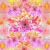 Salty & Sweet Neon Garden Graphic Art on Canvas