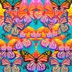 Salty & Sweet Float Like A Butterfly Graphic Art on Canvas