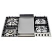 "ILVE 36"" Gas Cooktop with 4 Burners"
