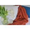 YourLovelyBedding Certified Organic Cotton Cable Knit Throw