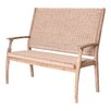 LG Outdoor Hanoi 2 Seater Wooden Bench