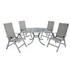 LG Outdoor Gold Coast 4 Seater Dining Set