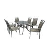 LG Outdoor Gold Coast 6 Seater Dining Set