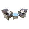 LG Outdoor Saigon Colonial 2 Seater Duo Set