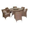 LG Outdoor Saigon Heritage 6 Seater Dining Set