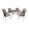 LG Outdoor Richmond 6 Seater Dining Set