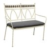 LG Outdoor Marrakech 2 Seater Metal Bench