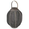 Mercury Row Rattan and Linen Lantern