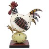 Three Posts Deerpark Metal Art Hen Figurine