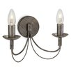 Three Posts Cazenovia 2 Light Semi-Flush Wall Light