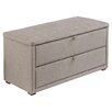 Three Posts Oakside Storage Ottoman