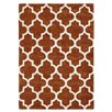 Three Posts Ballston Hand-Tufted Rust Brown Area Rug