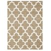 Three Posts Handgetufteter Teppich Ballston in Beige