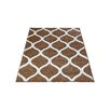 Three Posts Piccadilly Beige Area Rug